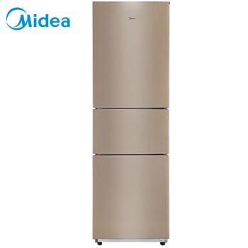 美的(Midea) 213升 节能静音家用三门小电冰箱 阳光米 BCD-213TM(E)