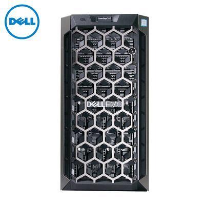戴尔 T440 塔式服务器 至强E-2224 3.4G 四核 16G内存/2*1TB硬盘/三年联保