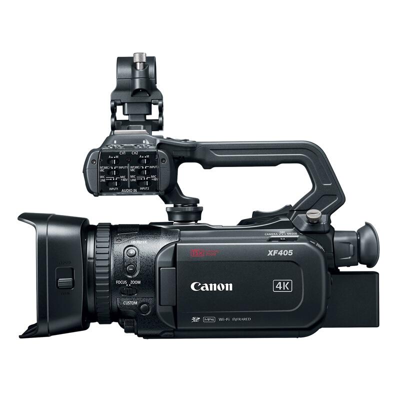 佳能 (Canon)XF405 高清摄像机 1.0寸CMOS影像传感器 约892万像素