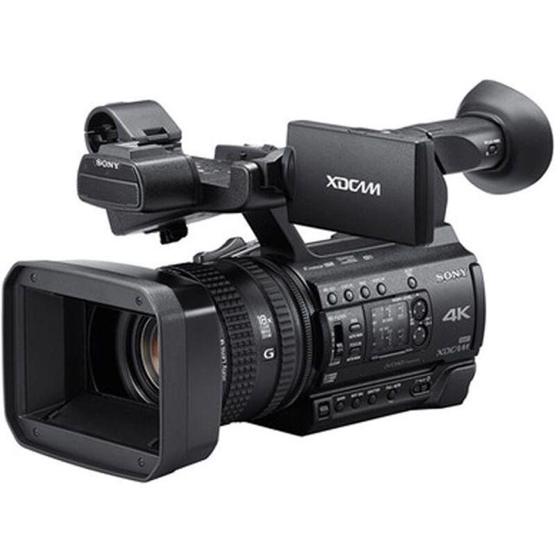 索尼(Sony) PXW-Z150 4K摄像机 小巧手持式 广播级摄录一体机(64GB内存卡)
