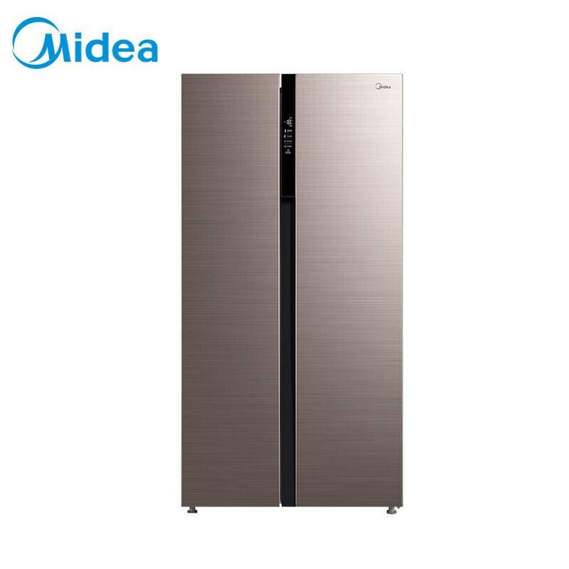 美的(Midea)冰箱对开门变频节能电冰箱风冷无霜552升大容量BCD-552WKPM(Q) 爵士棕