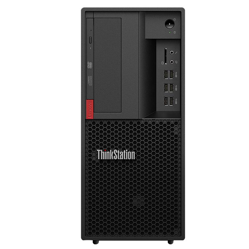 联想 ThinkStation P328 台式计算机(i3/4G/1TB/集显/无光驱/19.5寸)