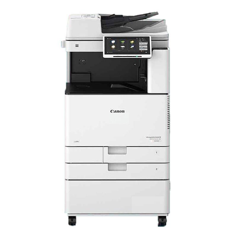 佳能/CANON iR-ADV DX C3730 彩色激光复印机【轻办公】主机+双面器+自动输稿器+工作台+双纸盒