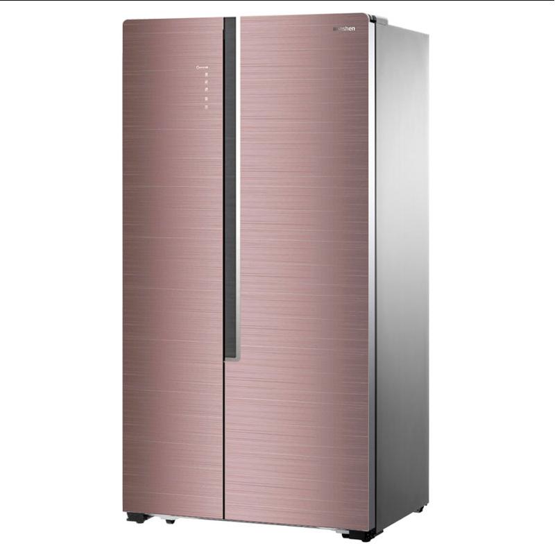容声(Ronshen) BCD-627WKS1HPGA 电冰箱 对开门 627升 多瑙金