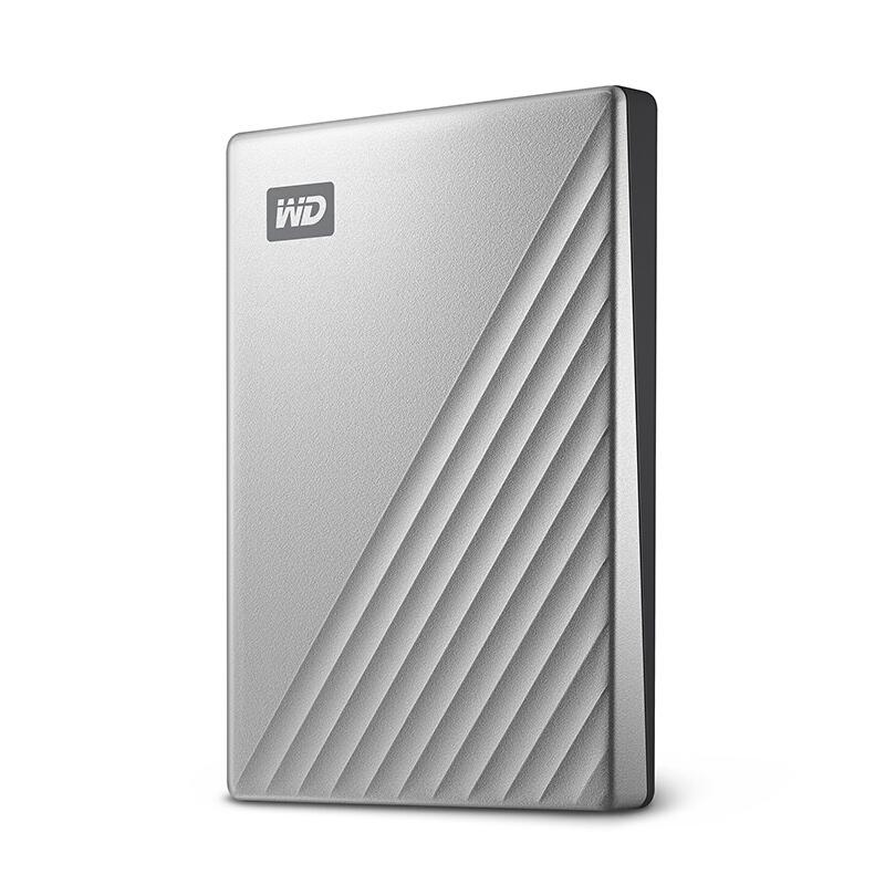 西部数据/WD My Passport Ultra 移动硬盘 2TB Type-C接口 Mac专用