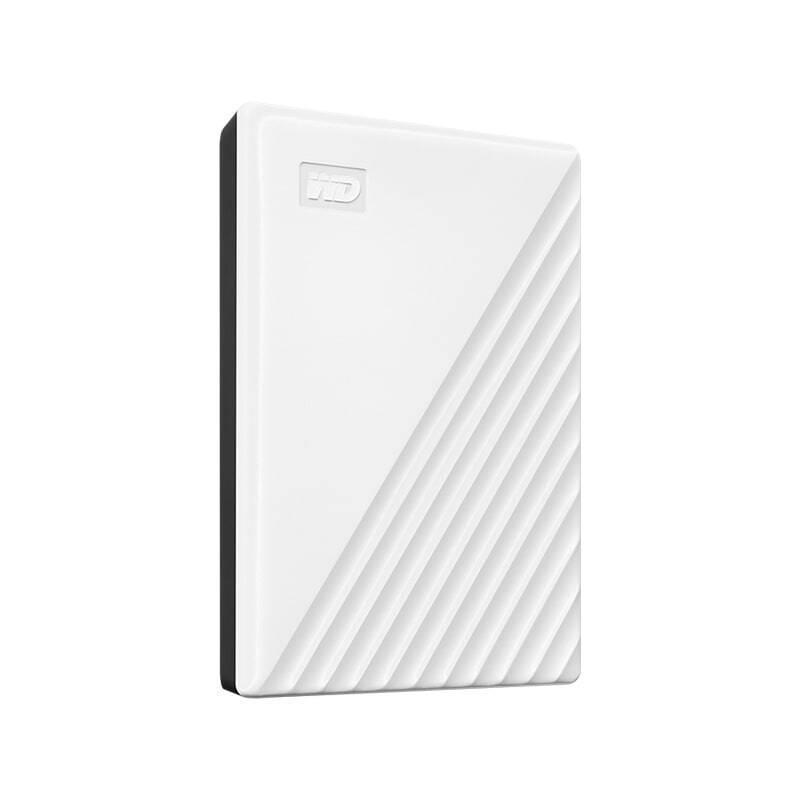 西部数据/WD My Passport随行版 移动硬盘 4TB USB3.0接口 白色 兼容Mac