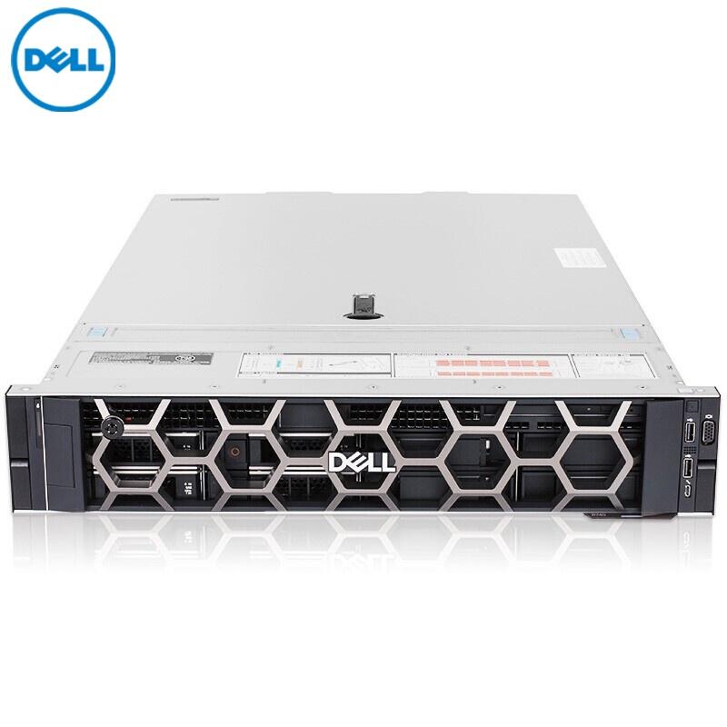 戴尔(DELL)PowerEdge R740 机架式服务器 【1*铜牌3204 6核6线程 】 32G 内存丨3*2T SAS硬盘