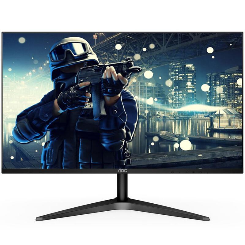 AOC显示器 27B1H 27英寸电脑屏幕 HDMI全高清IPS广视角 窄边框 低蓝光不闪屏 13mm纤薄机身 液晶显示器