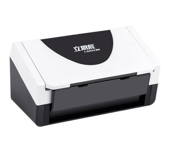 立思辰(LANXUM)扫描仪G4060F+、A4幅面,彩色馈纸式扫描仪,自动进纸,自动双面扫描,双头扫描