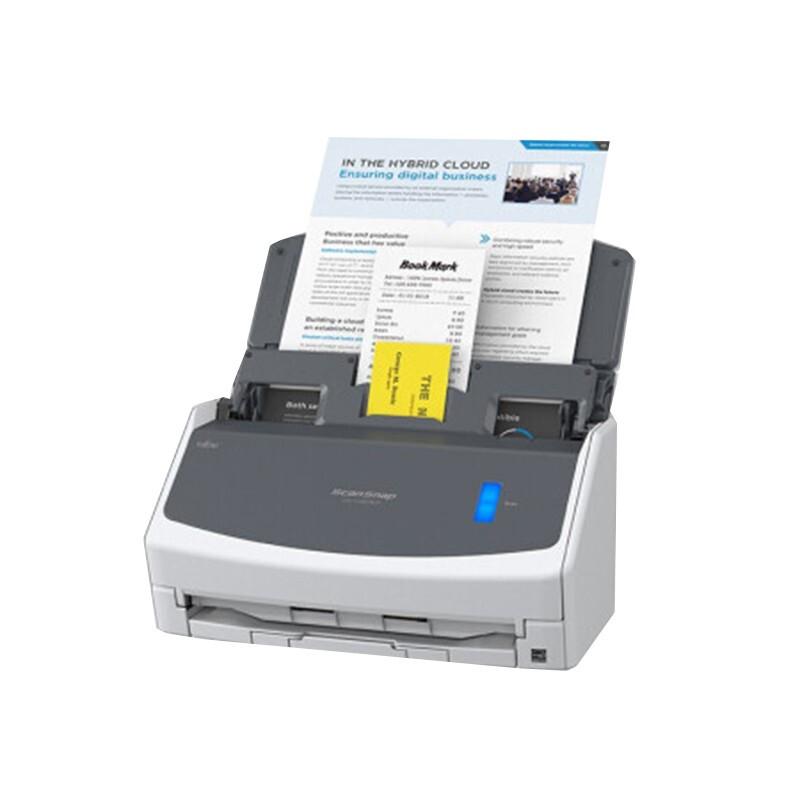 富士通(Fujitsu)iX1400L双面高清高速连续馈纸式彩色合同文件扫描仪