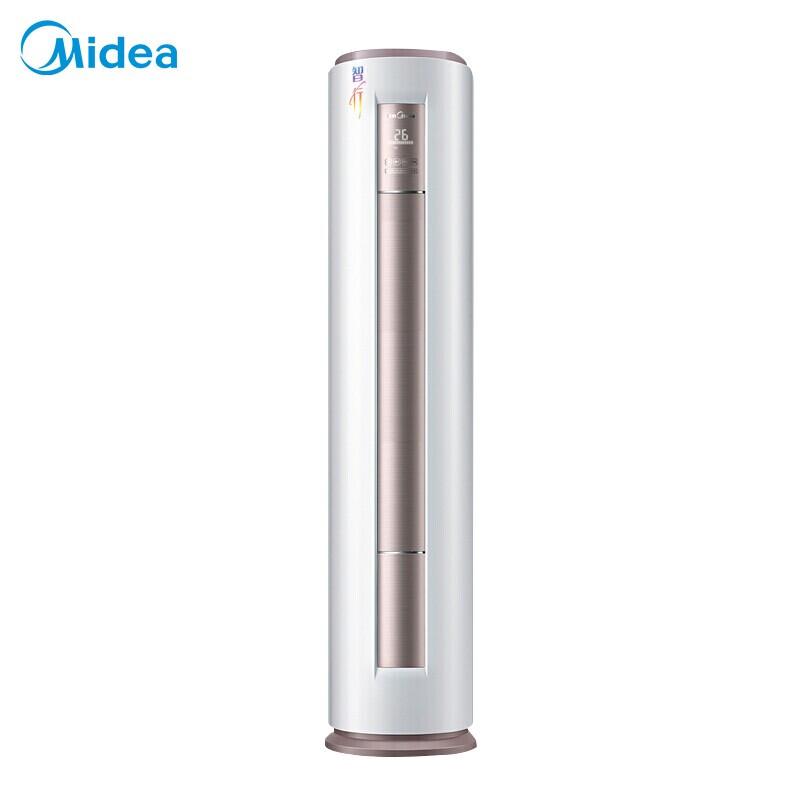 美的/Midea 新能效 智行 智能变频冷暖 柜式空调 客厅空调 3匹 KFR-72LW/BP2DN8Y-YA400(3)