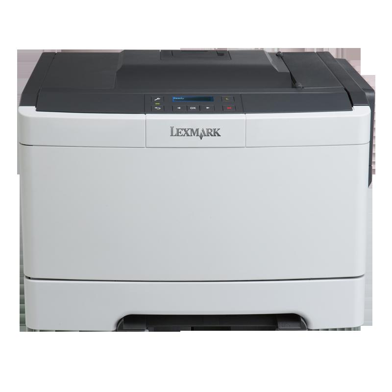 利盟(Lexmark)CS310dn 彩色激光打印机 高速网络 A4彩色双面打印 办公商用