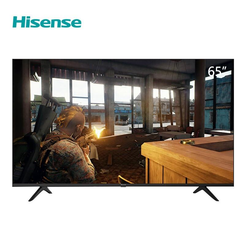 海信(Hisense)65H55E 65英寸 超高清4K 智能液晶平板电视 工程定制 家用商用电视机