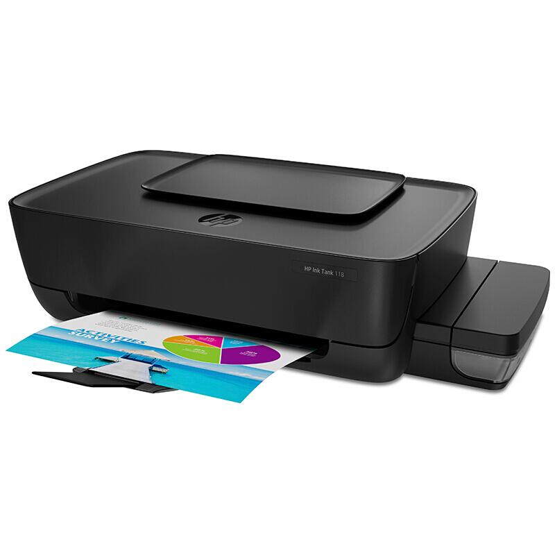 惠普 (HP) Ink Tank 118 连供打印机加墨式 喷墨打印机