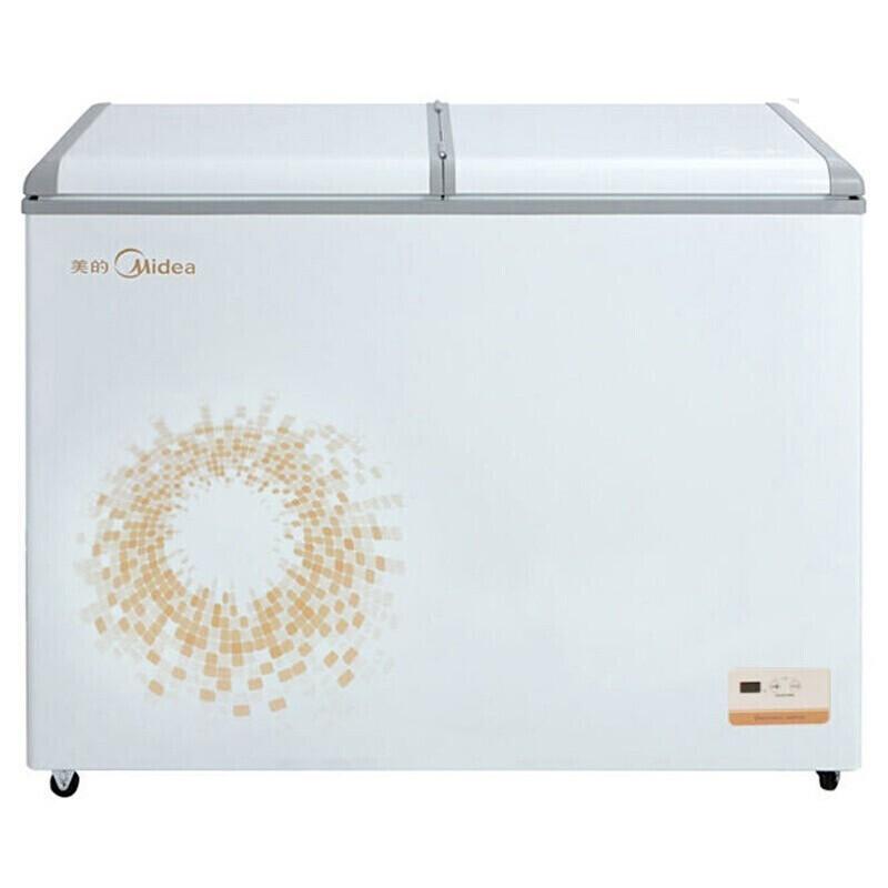 美的(Midea)311升家用双温冷柜大容量冰柜商用节能冷藏冷冻柜 BCD-311VEM 电冰箱