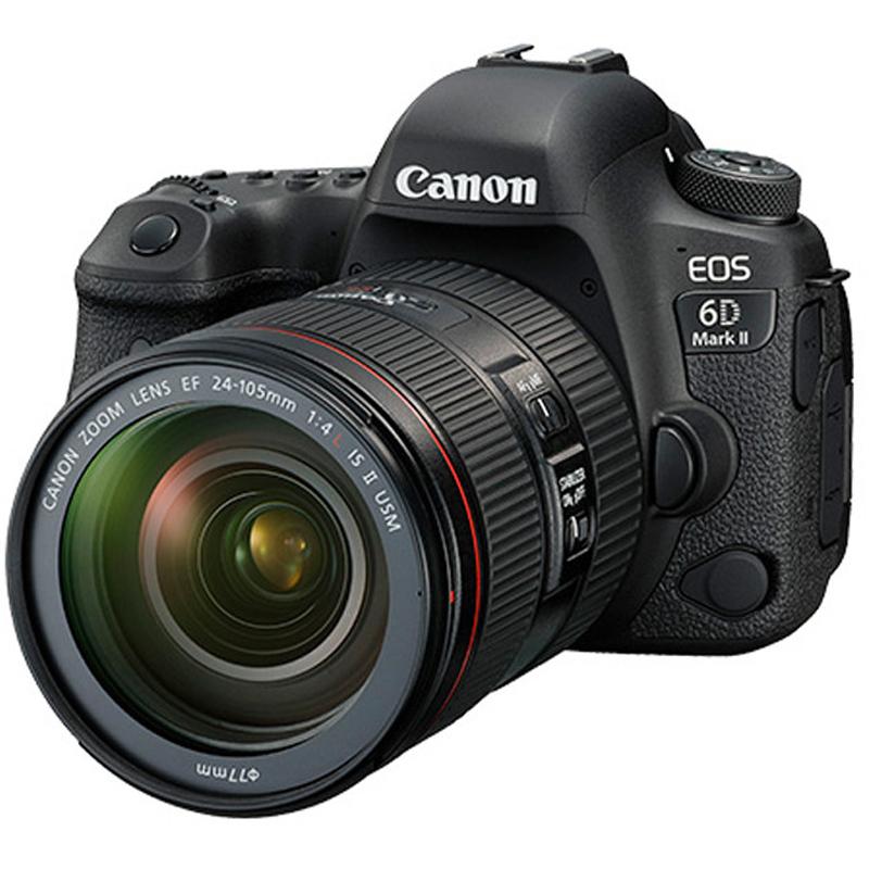 佳能 EOS 6D Mark II 24-105mm 单反照相机(EF 24-105mm USM 红圈镜头)