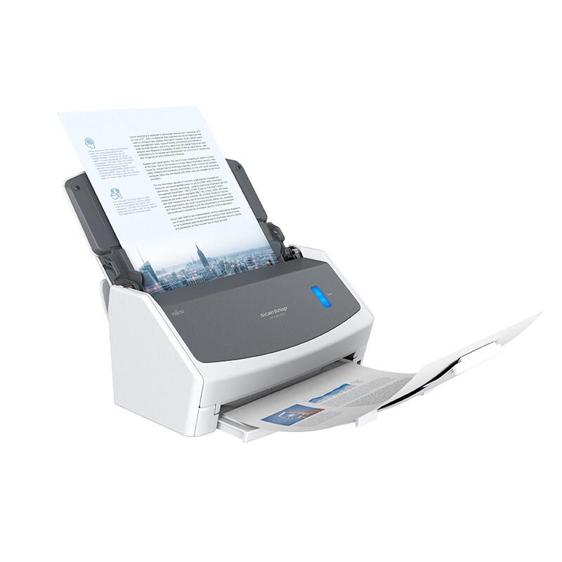 富士通(Fujitsu) iX1400双面高清高速连续馈纸式彩色合同文件扫描仪